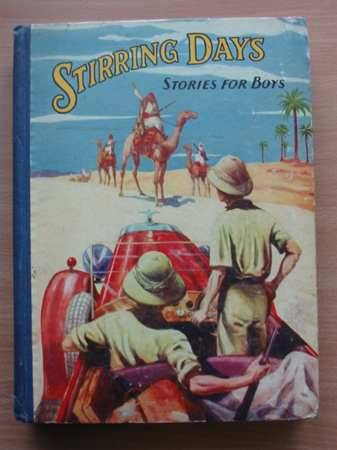 Photo of STIRRING DAYS STORIES FOR BOYS- Stock Number: 566943