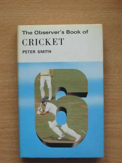 Photo of THE OBSERVER'S BOOK OF CRICKET (CYANAMID WRAPPER)- Stock Number: 569642
