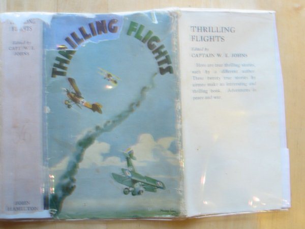 Photo of THRILLING FLIGHTS written by Johns, W.E.<br />et al,  published by John Hamilton Ltd. (STOCK CODE: 570653)  for sale by Stella & Rose's Books