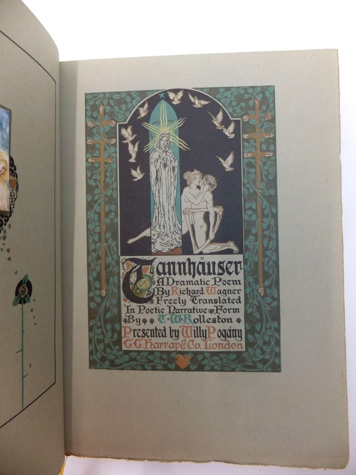 Photo of TANNHAUSER A DRAMATIC POEM written by Wagner, Richard illustrated by Pogany, Willy published by G.G. Harrap & Co. (STOCK CODE: 574492)  for sale by Stella & Rose's Books