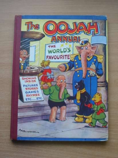 Photo of THE OOJAH ANNUAL written by Lancaster, Flo. illustrated by Talintyre, H.M. published by Peter Pitkin (STOCK CODE: 575228)  for sale by Stella & Rose's Books