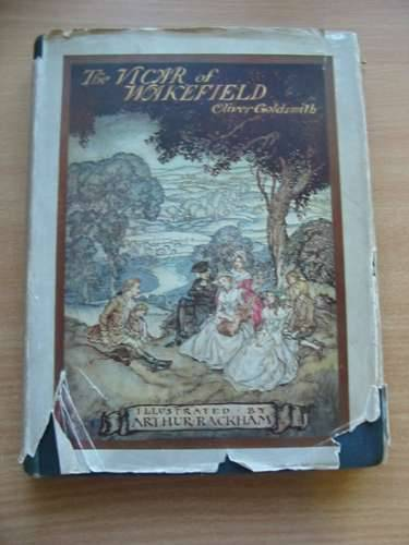Photo of THE VICAR OF WAKEFIELD written by Goldsmith, Oliver illustrated by Rackham, Arthur published by George G. Harrap & Co. Ltd. (STOCK CODE: 576038)  for sale by Stella & Rose's Books