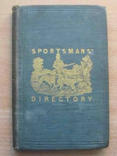 Photo of THE SPORTSMAN'S DIRECTORY- Stock Number: 576175