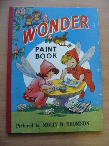 Photo of WONDER PAINT BOOK illustrated by Thomson, Molly published by The Sunshine Press (STOCK CODE: 576863)  for sale by Stella & Rose's Books