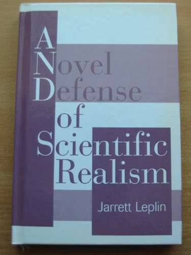 Photo of A NOVEL DEFENSE OF SCIENTIFIC REALISM written by Leplin, Jarrett published by Oxford University Press (STOCK CODE: 577211)  for sale by Stella & Rose's Books