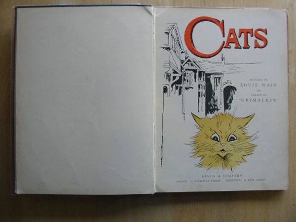 Photo of CATS written by Grimalkin, Tabitha illustrated by Wain, Louis published by Sands and Co. (STOCK CODE: 577483)  for sale by Stella & Rose's Books