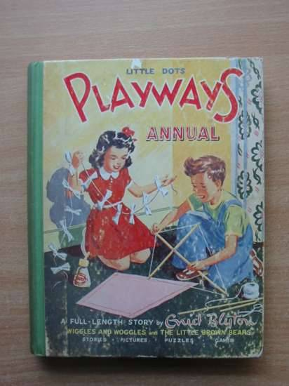 Photo of PLAYWAYS ANNUAL written by Blyton, Enid published by Playways Annual Office (STOCK CODE: 577656)  for sale by Stella & Rose's Books
