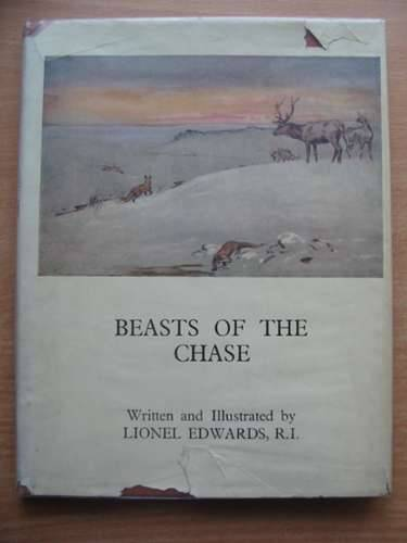 Photo of BEASTS OF THE CHASE written by Edwards, Lionel illustrated by Edwards, Lionel published by Putnam & Co. Ltd. (STOCK CODE: 580386)  for sale by Stella & Rose's Books
