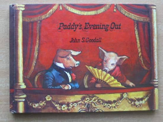 Photo of PADDY'S EVENING OUT written by Goodall, John S. illustrated by Goodall, John S. published by MacMillan (STOCK CODE: 581224)  for sale by Stella & Rose's Books