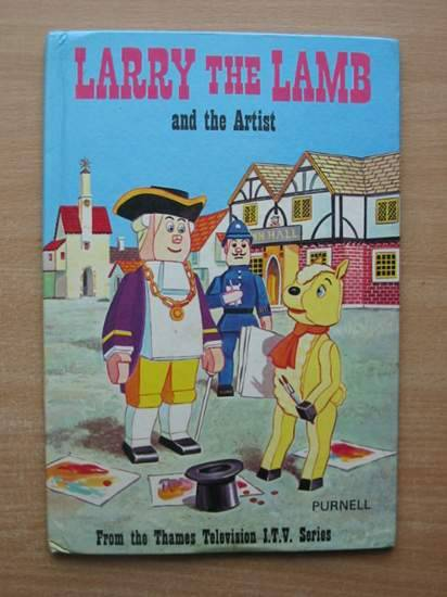 Photo of LARRY THE LAMB AND THE ARTIST published by Purnell (STOCK CODE: 581591)  for sale by Stella & Rose's Books