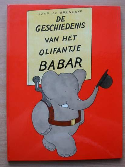 Photo of DE GESCHIENDENIS VAN HET OLIFANTJE BABAR written by De Brunhoff, Jean published by Ad. M.C. Stok (STOCK CODE: 582133)  for sale by Stella & Rose's Books