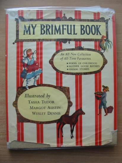 Photo of MY BRIMFUL BOOK written by Bruce, Dana illustrated by Tudor, Tasha<br />Austin, Margot<br />Dennis, Wesley published by Collins (STOCK CODE: 582146)  for sale by Stella & Rose's Books