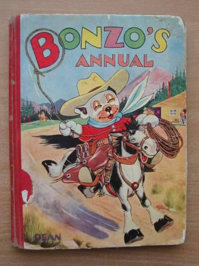 Photo of BONZO'S ANNUAL 1951 written by Studdy, G.E.<br />Bradley, Christine E. illustrated by Studdy, G.E. published by Dean &amp; Son Ltd. (STOCK CODE: 582698)  for sale by Stella & Rose's Books