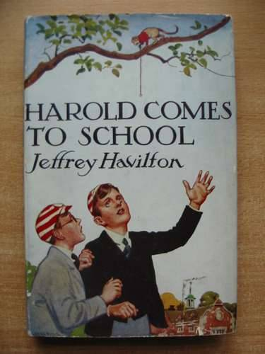 Photo of HAROLD COMES TO SCHOOL written by Havilton, Jeffrey illustrated by Brock, H.M. published by Blackie & Son Ltd. (STOCK CODE: 583017)  for sale by Stella & Rose's Books