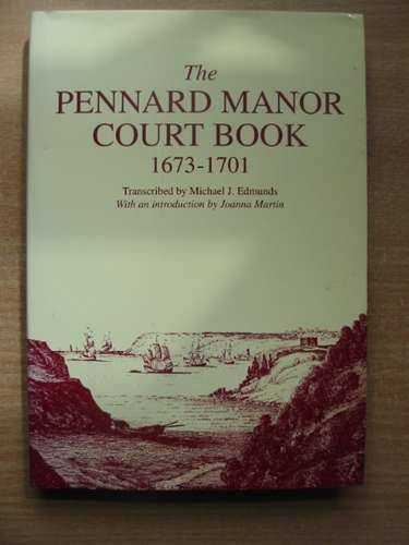 Photo of THE PENNARD MANOR COURT BOOK 1673-1701 written by Edmunds, Michael J. Martin, Joanna published by South Wales Record Society (STOCK CODE: 583065)  for sale by Stella & Rose's Books