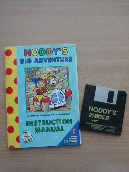 Photo of NODDY'S BIG ADVENTURE INSTRUCTION MANUAL- Stock Number: 583368