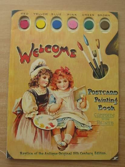 Photo of WELCOME POSTCARD PAINTING BOOK published by Merrimack Publishing Corp. (STOCK CODE: 583443)  for sale by Stella & Rose's Books
