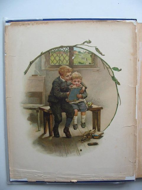 Photo of NISTER'S HOLIDAY ANNUAL 1892 written by L'Estrange, C.J. illustrated by Dicksee, M.J. et al.,  published by Ernest Nister (STOCK CODE: 583463)  for sale by Stella & Rose's Books