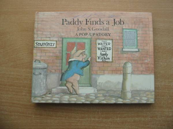 Photo of PADDY FINDS A JOB written by Goodall, John S. illustrated by Goodall, John S. published by Macmillan Children's Books (STOCK CODE: 584147)  for sale by Stella & Rose's Books