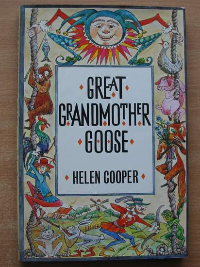 Photo of GREAT GRANDMOTHER GOOSE written by Cooper, Helen illustrated by Turska, Krystyna published by Hamish Hamilton (STOCK CODE: 586911)  for sale by Stella & Rose's Books