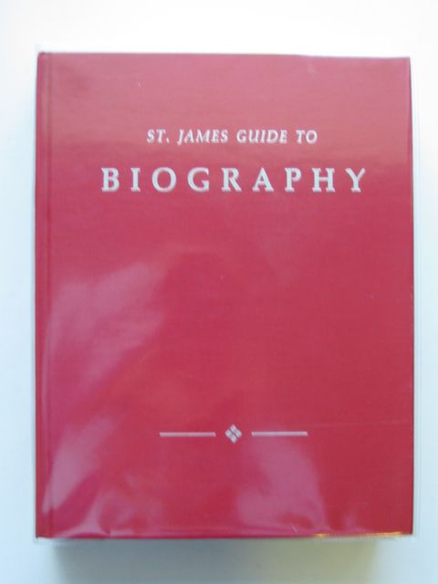 Photo of ST. JAMES GUIDE TO BIOGRAPHY written by Schellinger, Paul E. published by St. James Press (STOCK CODE: 587813)  for sale by Stella & Rose's Books