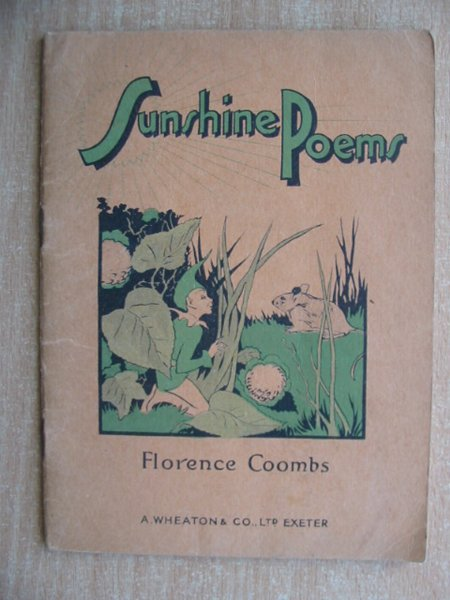 Photo of SUNSHINE POEMS written by Coombs, Florence published by A. Wheaton & Co. Ltd. (STOCK CODE: 588298)  for sale by Stella & Rose's Books