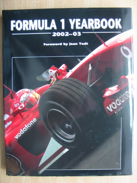 Photo of FORMULA 1 YEARBOOK 2002-03- Stock Number: 588765