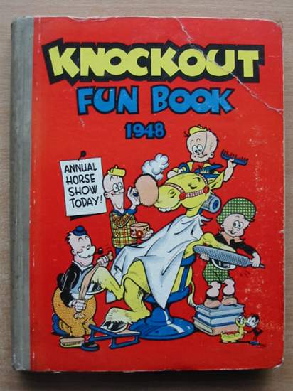 Photo of KNOCKOUT FUN BOOK 1948 published by The Amalgamated Press (STOCK CODE: 588821)  for sale by Stella & Rose's Books