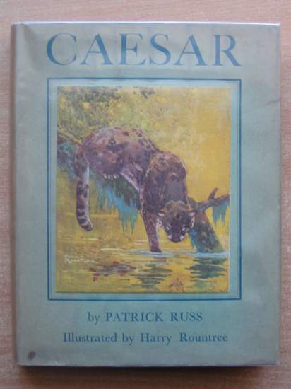 Photo of CAESAR THE LIFE STORY OF A PANDA LEOPARD written by Russ, Richard Patrick<br />O'Brian, Patrick illustrated by Rountree, Harry published by G.P. Putnam's Sons (STOCK CODE: 589147)  for sale by Stella & Rose's Books