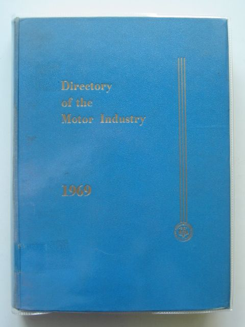 Photo of THE DIRECTORY OF THE MOTOR INDUSTRY- Stock Number: 590802