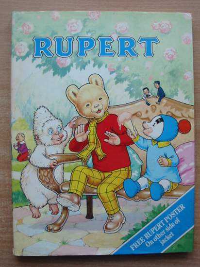 Photo of RUPERT ANNUAL 1990 written by Henderson, James illustrated by Harrold, John published by Daily Express (STOCK CODE: 591450)  for sale by Stella & Rose's Books