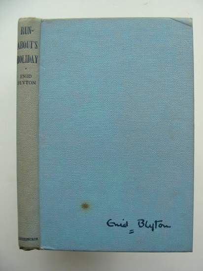 Photo of RUN-ABOUT'S HOLIDAY written by Blyton, Enid illustrated by Chivers, Lilian published by Lutterworth Press (STOCK CODE: 592213)  for sale by Stella & Rose's Books