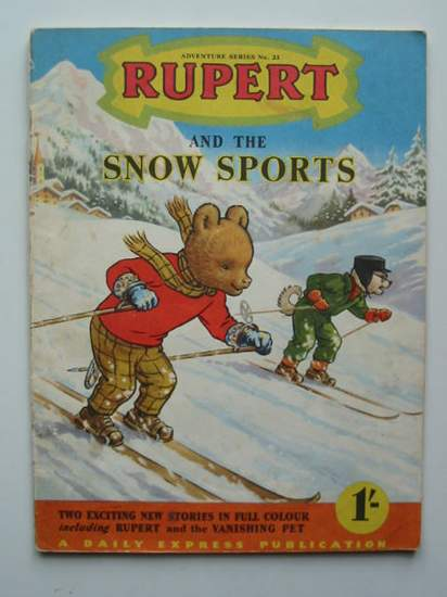 Photo of RUPERT ADVENTURE SERIES No. 23 - RUPERT AND THE SNOW SPORTS written by Bestall, Alfred published by Daily Express (STOCK CODE: 592537)  for sale by Stella & Rose's Books