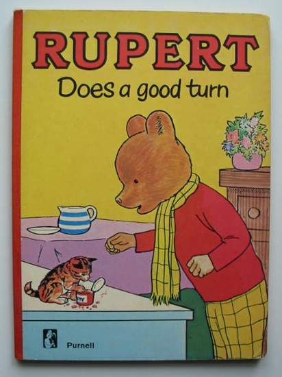 Photo of RUPERT DOES A GOOD TURN published by Purnell (STOCK CODE: 592540)  for sale by Stella & Rose's Books