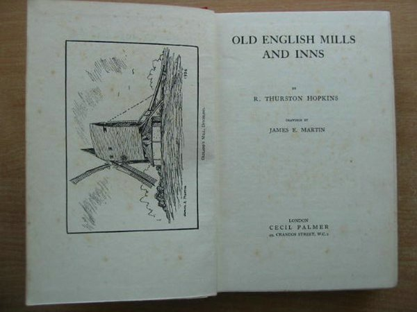 Photo of OLD ENGLISH MILLS AND INNS written by Hopkins, R. Thurston illustrated by Martin, James E. published by Cecil Palmer (STOCK CODE: 592862)  for sale by Stella & Rose's Books
