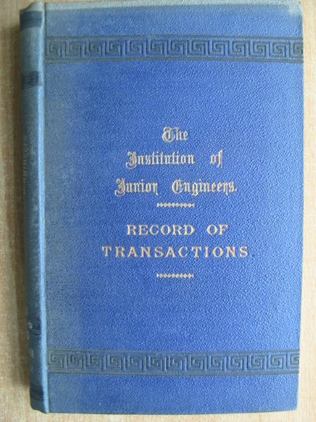 Photo of THE JUNIOR INSTITUTION OF ENGINEERS RECORD OF TRANSACTIONS VOLUME XII written by Dunn, Walter T. published by Percival Marshall And Co Ltd. (STOCK CODE: 592904)  for sale by Stella & Rose's Books