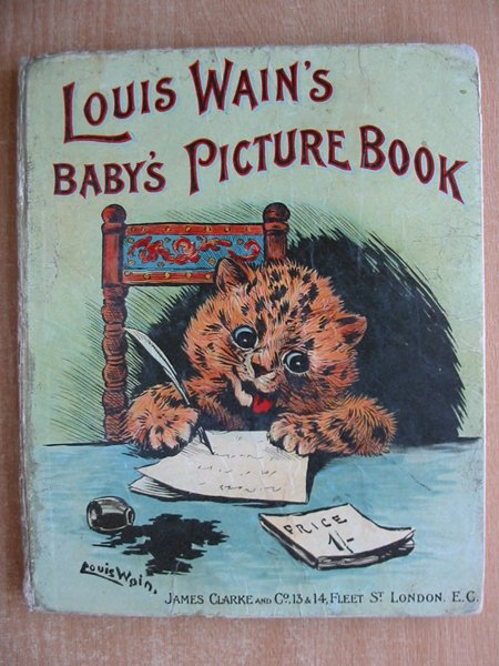 Photo of LOUIS WAIN'S BABY'S PICTURE BOOK illustrated by Wain, Louis published by James Clarke & Co. (STOCK CODE: 593893)  for sale by Stella & Rose's Books
