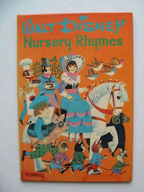 Photo of WALT DISNEY NURSERY RHYMES written by Disney, Walt illustrated by Disney, Walt published by Purnell (STOCK CODE: 594121)  for sale by Stella & Rose's Books
