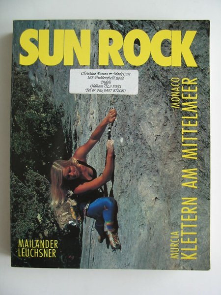 Photo of SUN ROCK MURCIA MONACO written by Leuchsner, Mailander published by Panico Press (STOCK CODE: 594212)  for sale by Stella & Rose's Books