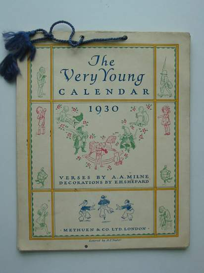 Photo of THE VERY YOUNG CALENDAR 1930- Stock Number: 594439