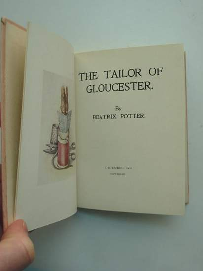 Photo of THE TAILOR OF GLOUCESTER written by Potter, Beatrix illustrated by Potter, Beatrix published by Strangeways (STOCK CODE: 594582)  for sale by Stella & Rose's Books