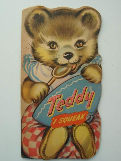 Photo of TEDDY 'I SQUEAK'- Stock Number: 594838