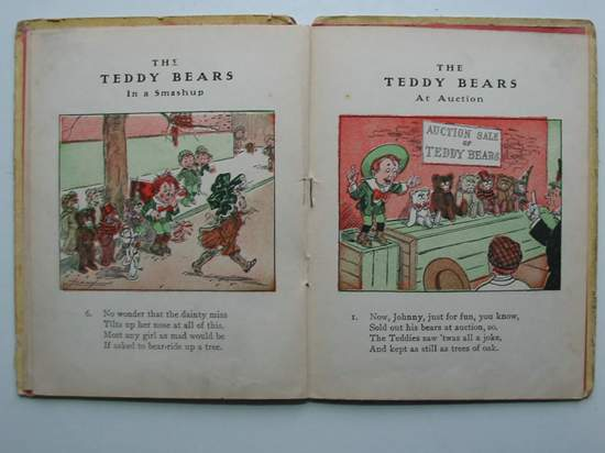 Photo of THE TEDDY BEARS IN A SMASHUP written by Towne, Robert D. illustrated by Bray, J.R. Sieber, C.A. published by The Reilly & Britton Co. (STOCK CODE: 594887)  for sale by Stella & Rose's Books