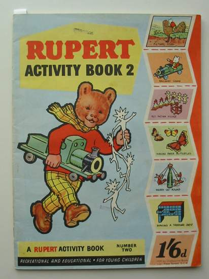 Photo of RUPERT ACTIVITY BOOK 2 published by Daily Express (STOCK CODE: 594929)  for sale by Stella & Rose's Books