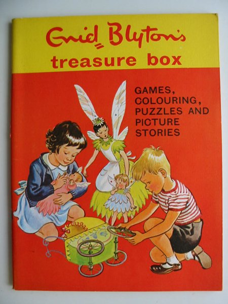 Photo of ENID BLYTON'S TREASURE BOX written by Blyton, Enid illustrated by Boswell, Hilda<br />et al.,  published by Sampson Low, Marston &amp; Co. Ltd., Dennis Dobson (STOCK CODE: 595034)  for sale by Stella & Rose's Books