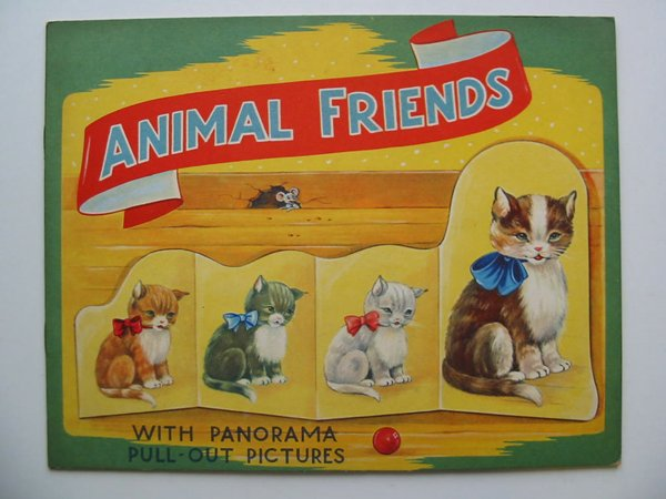 Photo of ANIMAL FRIENDS WITH PANORAMA PULL-OUT PICTURES- Stock Number: 595040
