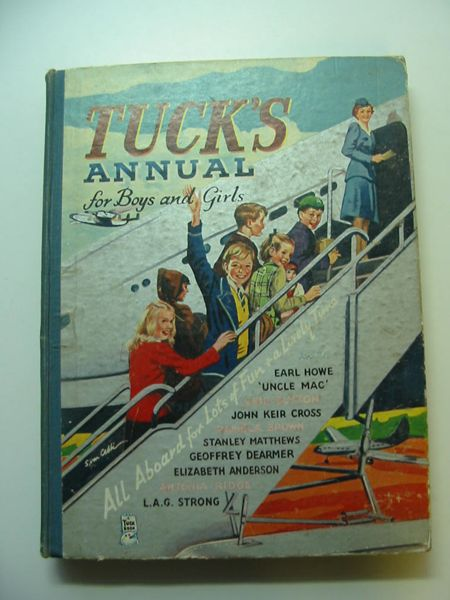 Photo of TUCK'S ANNUAL FOR BOYS AND GIRLS written by Blyton, Enid Brown, Pamela et al,  published by Raphael Tuck & Sons Ltd. (STOCK CODE: 595301)  for sale by Stella & Rose's Books