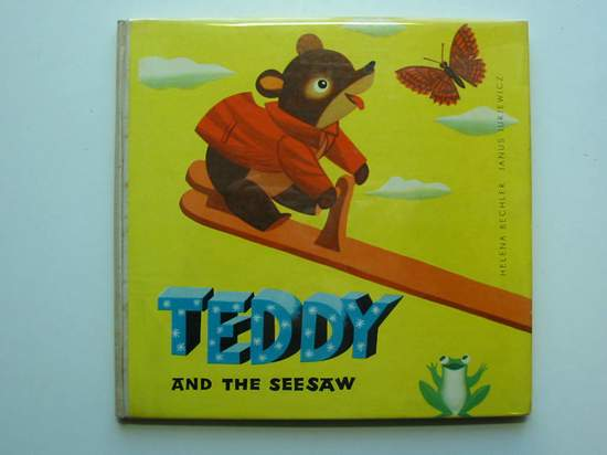Photo of TEDDY AND THE SEESAW- Stock Number: 595617