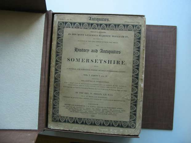 Photo of THE HISTORY AND ANTIQUITIES OF SOMERSETSHIRE written by Phelps, William published by J.B. Nichols and Son (STOCK CODE: 595693)  for sale by Stella & Rose's Books