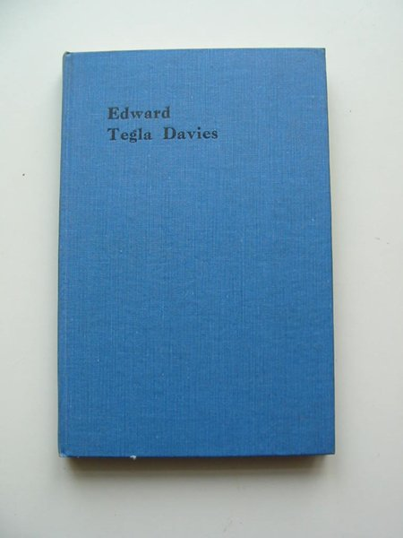 Photo of EDWARD TEGLA DAVIES written by Elis, Islwyn Ffowc published by Hugh Evans (STOCK CODE: 595831)  for sale by Stella & Rose's Books